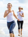 Perimenopause Women Running Port
